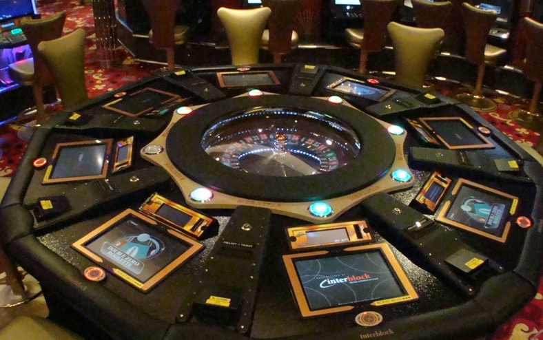 automated roulette tables
