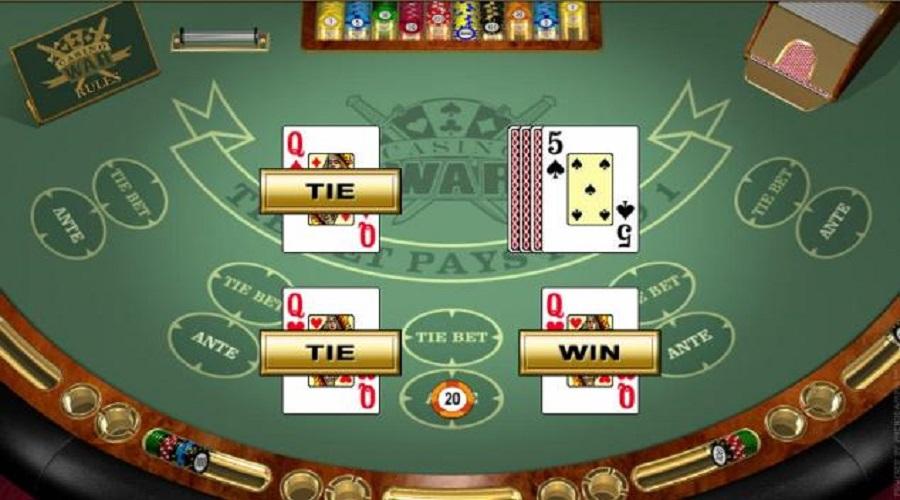casino war online