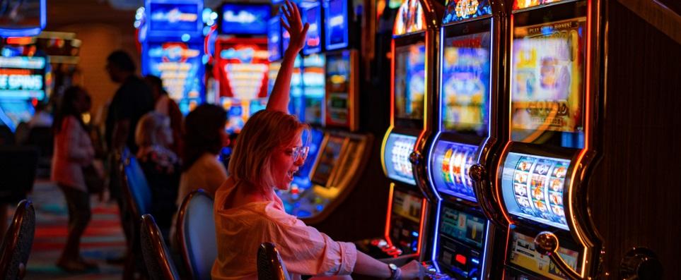 slot machines rewarding