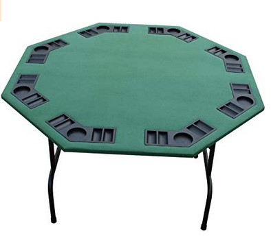 Octagon Folding Poker Table