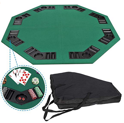 Portable Foldable Poker Table Set