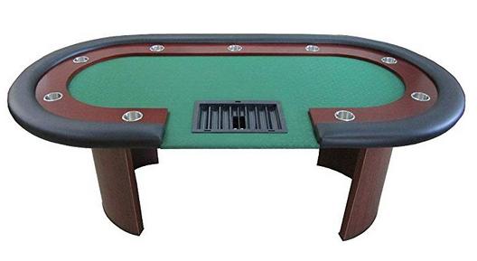 84'' Racetrack Poker Table