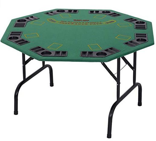 Octagonal Foldable Poker Table