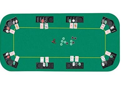 Non-Slip Poker Table