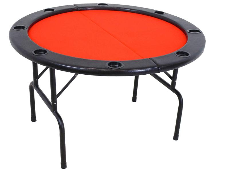 Sunnydaze Folding Round Poker Table review